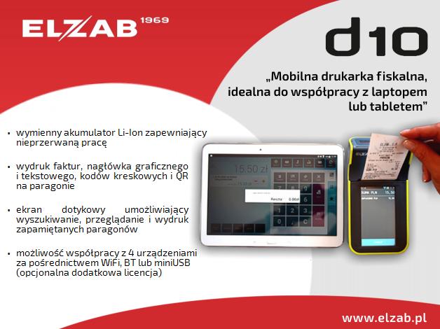 Drukarka ELZAB D10