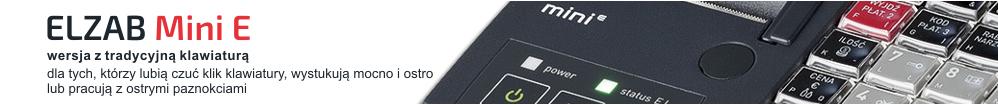 Kasa ELZAB Mini E z klawiaturą modułową