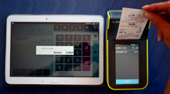 Współpraca ELZAB D10 z programem sprzedażowym firmy Insoft, komunikacja po Bluetooth
