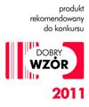 Produkt rekomendowany do konkursu DOBRY WZÓR 2011
