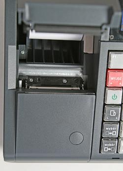 Termiczny mechanizm drukujący z bardzo wygodną dla użytkownika funkcją easy load