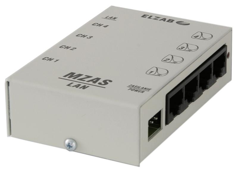 Moduł zasilania MZAS do sieci LAN