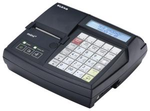 Mała kasa fiskalna z elektroniczną kopią paragonów ELZAB Mini E 3k, grafitowa