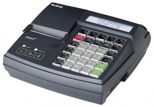 Mała kasa fiskalna z elektroniczną kopią paragonów ELZAB Mini E 3k z klawiaturą modułową, grafitowa, 3000 PLU