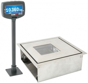 Saturn 2M + installation basket, electronic scale for mounting in the countertop