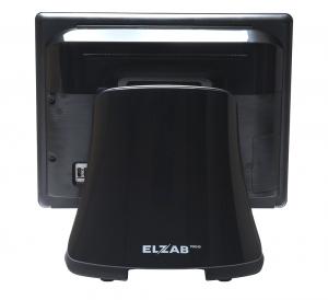 Terminal POS ELZAB P12+ z ekranem dotykowym, rezystancyjny czarny J19/4GB/128GB, polecany dla HoReCa