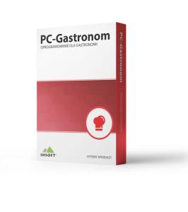 Oprogramowanie dla restauracji PC-Gastronom – Standard – stanowisko POS dla gastronomii