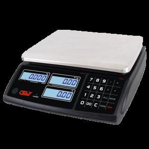 Waga sklepowa kalkulacyjna DIBAL PI-1S RS, 3/6 kg lub 6/15 kg, wyświetlacz LCD, akumulator