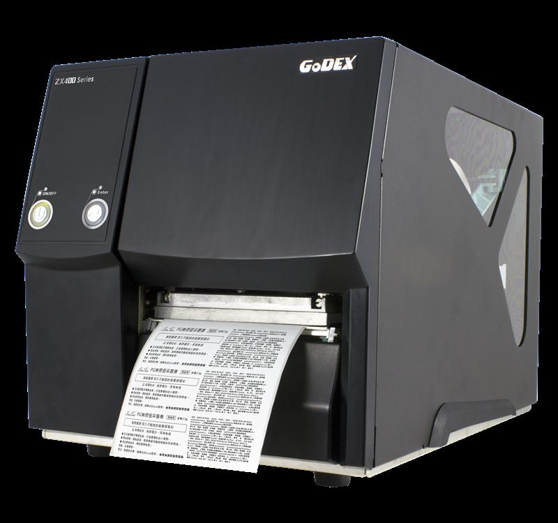 Przemysłowa drukarka etykiet Godex ZX420