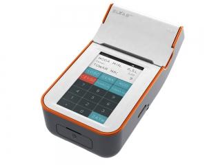 Mobilna kasa fiskalna z elektroniczną kopią paragonów ELZAB K1 3k, Bluetooth, WiFi, biało-pomarańczowa