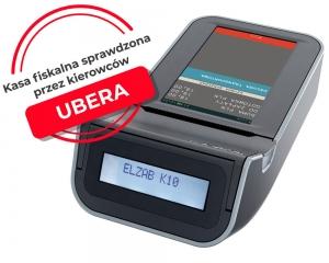 Mobilna kasa fiskalna z elektroniczną kopią paragonów ELZAB K1 3k, Bluetooth, WiFi, popielaty jasnopopielaty