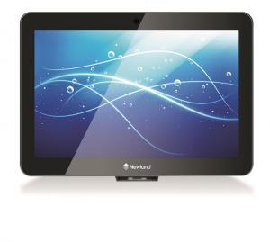 Infokiosk Newland NQ1000 II, urządzenie interaktywne, sprawdza ceny, obsługuje programy lojalnościowe