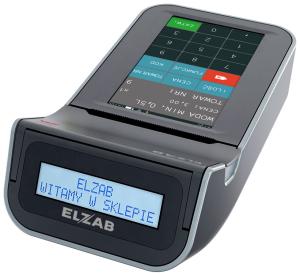 Mobilna kasa fiskalna ELZAB K10 online Bluetooth/ GPRS, Bluetooth/ WiFi, popielaty jasnopopielaty