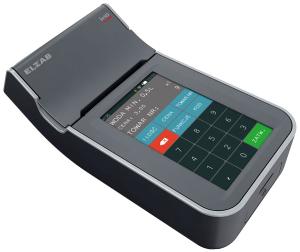 Mobilna kasa fiskalna ELZAB K1 online Bluetooth/ GPRS, Bluetooth/ WiFi, popielaty jasnopopielaty