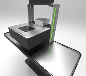 Kasa samoobsługowa ELZAB z modułem płatności bezgotówkowej