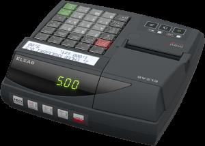 Kasa fiskalna ELZAB Mini LT online z klawiaturą modułową Bluetooth/ WiFi, grafitowa