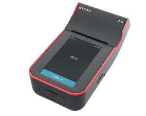 Drukarka fiskalna ELZAB D1 z elektroniczną kopią paragonów, czarno-czerwona