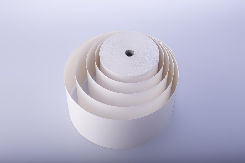 Biała rolka termiczna 57,5mm/80m/48szt