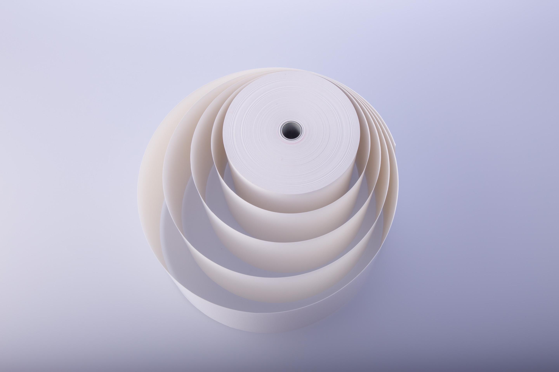 Biała rolka termiczna 59mm/30m/30szt