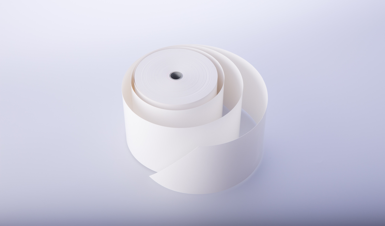 Biała rolka termiczna 80mm/80m/36szt