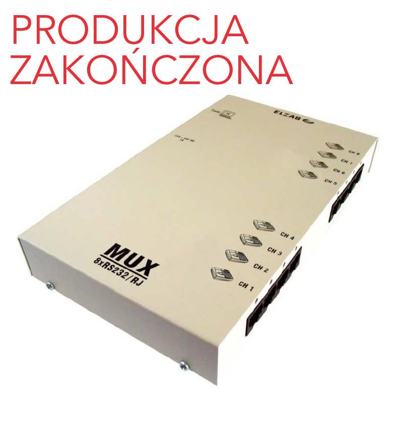 Multiplekser 8xRS232/RJ