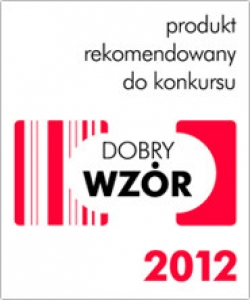 Produkt rekomendowany do konkursu Dobry Wzór 2012