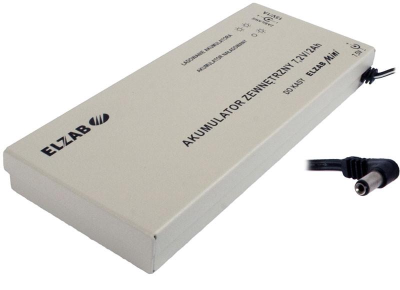 Akumulator zewnętrzny do kasy ELZAB Mini